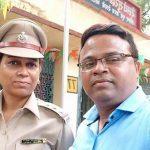 भाटापाड़ा में महिला इंस्पेक्टर ने पति को मारी गोली